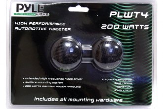 "Pyle® - 1-1/2"" Surface Mount Piezo 200W Tweeters"