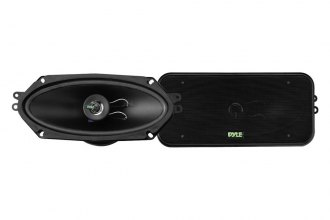 "Pyle® - 4""x10"" 300W 2-Way Speakers"