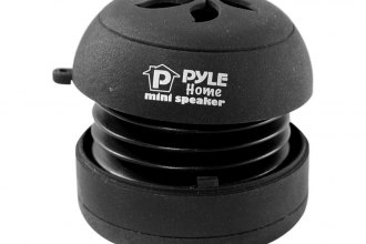 Pyle® PMS2B - iPod/iPhone/MP3/Computer Black Mini Speaker