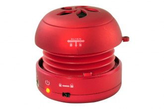 Pyle® PMS2R - iPod/iPhone/MP3/Computer Red Mini Speaker