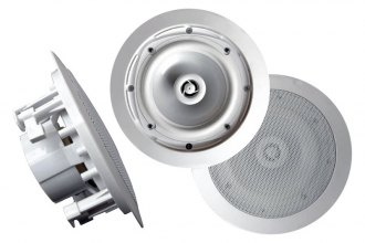 "Pyle® - 8"" 2-Way In-Ceiling Water Proof Stereo Speakers"