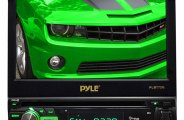 "Pyle® - Single DIN In-Dash DVD/CD/MP4/USB/SD Receiver with 7"" TFT-LCD Monitor"