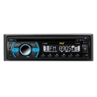 Pyle® - Single DIN In-Dash MP3/AM/FM/CD/USB/SD/AUX Receiver with Bluetooth