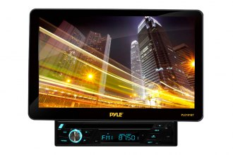 "Pyle® - Single DIN In-Dash Disc/VCD/CD/MP3/CD-R/USB/AM/FM/RDS/Bluetooth Player with Motorized 10"" TFT-LCD Monitor"
