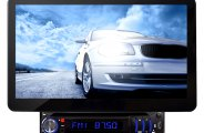 Pyle® - Single DIN DVD/VCD/CD/MP3/USB/AM/FM/RDS Receiver with 10.1'' TFT-LCD Monitor