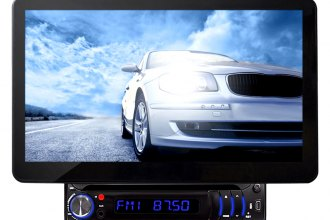 "Pyle® - Single DIN DVD/VCD/CD/MP3/USB/AM/FM/RDS Receiver with 10.1"" TFT-LCD Monitor"