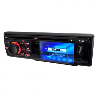 "Pyle® - Single DIN CD/DVD/USB/SD Receiver with 3"" LCD Monitor and Bluetooth"