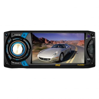 Pyle® - Single DIN DVD/CD/AM/FM/MP3/WMA/MP4 Receiver with 4.3'' Touchscreen Display