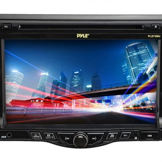 "Pyle® - Single DIN CD/DVD/USB/SD Receiver with 7"" Touch Screen and Bluetooth"