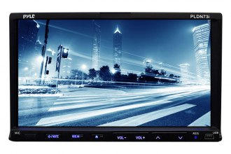 "Pyle® - Double DIN DVD/VCD/CD/MP3/MP4 Receiver with 7"" Touch Screen TFT Monitor"