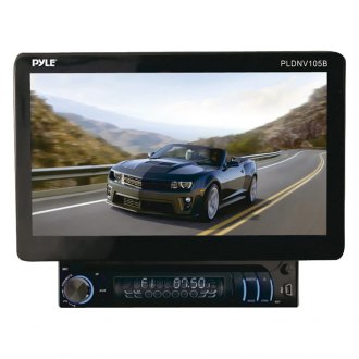 "Pyle® - Single DIN DVD/VCD/MPEG4/MP3/DIVX/CD/CD-RW Receiver with 10.1"" Detachable TFT/LCD Monitor, Bluetooth/AUX-In iPod Cable and GPS with USA/Canada/Mexico Maps"