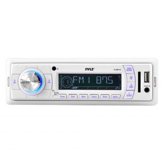 Pyle® - White AM/FM/USB/MP3/Aux Stereo Receiver
