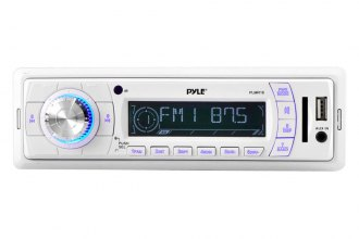 Pyle® - Single DIN AM/FM-MPX PLL Tuning Radio (W/O Built-in Weatherband)