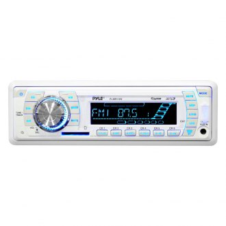Pyle® - Single DIN AM/FM-MPX PLL Tuning Radio with Built-in Weatherband
