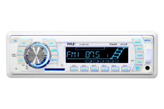Pyle® - Single DIN AM/FM-MPX PLL Tuning Radio (With Built-in Weatherband)