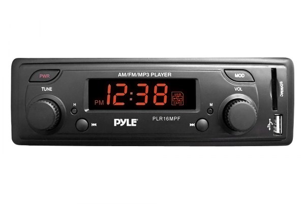 Pyle® - Single DIN In-Dash MP3/AM/FM-MPX Receiver