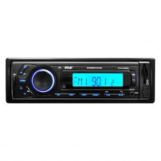 Pyle® - Single DIN AM/FM/MP3/WMA Digital Media Receiver with Built-In Bluetooth