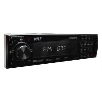 Pyle® - Single DIN AM/FM Digital In-Dash Receiver with USB/SD/MMC Readers and Built-In Bluetooth