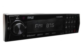 Pyle® - Single DIN In-Dash AM/FM Radio with USB/SD/MMC Readers and Aux-Input (With Bluetooth)