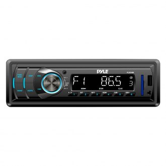 Pyle® - Single DIN In-Dash MP3/AM/FM-MPX/USB/SD Receiver with AUX Input and Remote