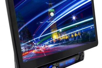"Pyle® - Single DIN In-Dash Disc/VCD/CD/MP3/CD-R/USB/AM/FM/RDS/Bluetooth Player with Motorized 13.1"" Detachable TFT-LCD Monitor"
