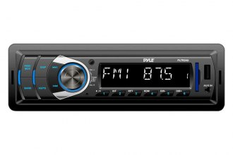 Pyle® - Single DIN MP3/SD/USB/AM/FM Receiver with Remote