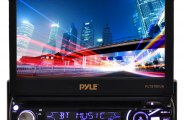 Pyle® - Single DIN In-Dash DVD/CD/MP3/MP4/USB/SD/AM-FM Receiver with 7'' TFT-LCD Monitor