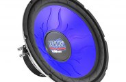 Pyle� - Blue Injection Molded Cone DVC Subwoofer