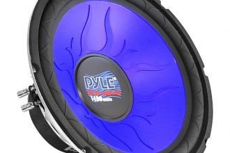 "Pyle® - 18"" Blue Injection Molded Cone DVC 1800W Subwoofer"
