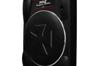 "Pyle® - 10"" Low-Profile Super Slim Active Amplified 1000W Subwoofer System"