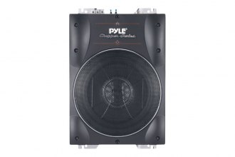"Pyle® - 8"" 600W Low-Profile Super-Slim Active Amplified Subwoofer"