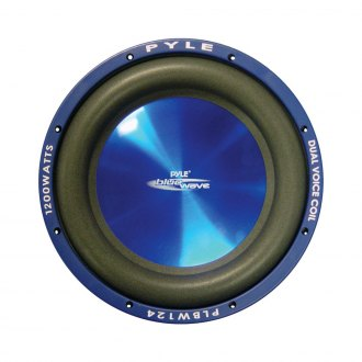 Pyle® - 12 1200W Blue Injection Molded Cone DVC Subwoofer