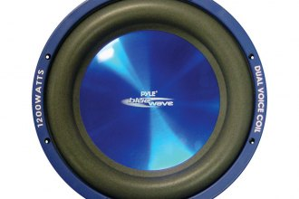 "Pyle® - 12"" Blue Injection Molded Cone 1200W DVC Subwoofer"
