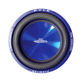 "Pyle® - 8"" Blue Wave Series 600W 4 Ohm DVC Subwoofer"