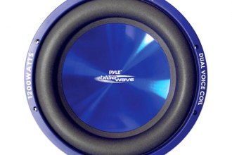 "Pyle® - 8"" 600W Blue Injection Molded Cone DVC Subwoofer"