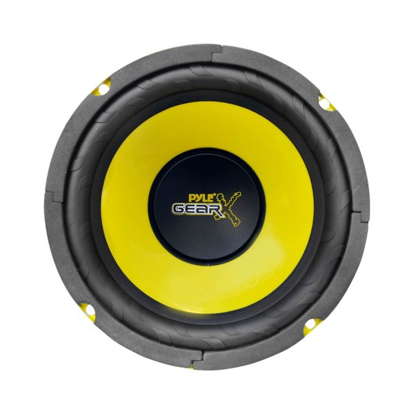 "Pyle® - 6-1/2"" Gear-X Series Mid-Bass 300W 4 Ohm SVC Subwoofer"