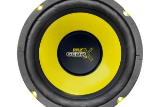 "Pyle® - 6.5"" 300W Yellow CD P.P. Cone  Mid-Bass Subwoofer"