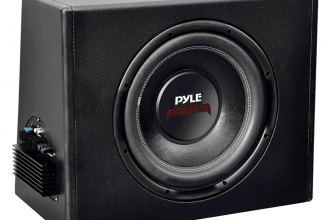 "Pyle® - 10"" 300W 1.5"" Voice Coil Slim-Design Powered Enclosure System"