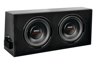 "Pyle® - 10"" 600W 1.5"" Voice Coil Dual Slim-Design Powered Enclosure System"