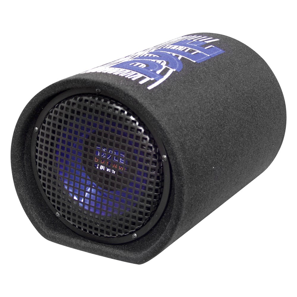 "Pyle® PLTB8 - 8"" Blue Wave Series Single Carpeted Sealed Passive 400W Subwoofer Tube"