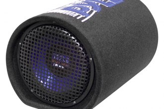 "Pyle® - 8"" 400W Carpeted Subwoofer Tube Enclosure System"