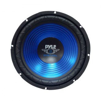 Pyle® - 10 600W Blue CD Wave Electro-Plated Cone Subwoofer
