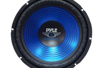 "Pyle® - 10"" Blue CD Wave Electro-Plated Cone 600W Subwoofer"