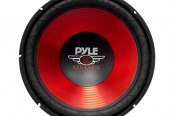 "Pyle® - 10"" 600W Blue CD Wave Electro-Plated Cone Subwoofer"