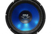 "Pyle® - 12"" 800W Blue CD Wave Electro-Plated Cone Subwoofer"