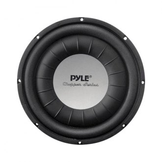 "Pyle® - 10"" Chopper Series Shallow Mount 1000W 4 Ohm DVC Subwoofer"