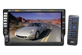 Pyle® - Double DIN 7'' Touch Screen TFT DVD/CD/MP3/CD-R/USB/AM/FM/RDS Receiver