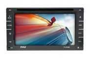 "Pyle® - Double DIN 6.5"" Touch Screen TFT DVD/CD/MP3/MP4/CD-R/USB/SD-MMC Card Slot AM/FM"