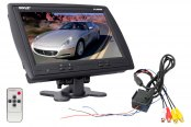 Pyle® - 9'' Widescreen TFT Monitor with Headrest Shroud and Universal Stand