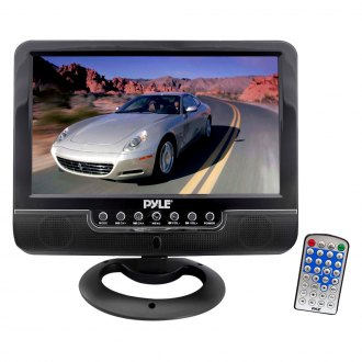 "Pyle® - 9"" Black Full Color TFT Monitor with USB/SD Card Readers"